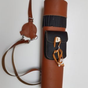 Hand Made Leather Quiver 506