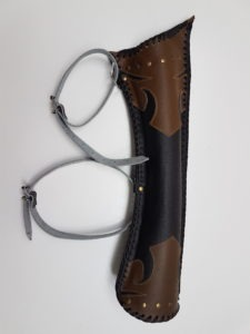 Hand Made Leather Quiver 601
