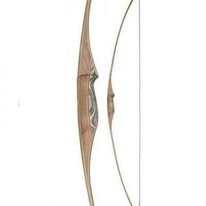 white feather osprey flat bow